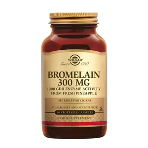 Solgar Vitamins Bromelain 300 mg afbeelding