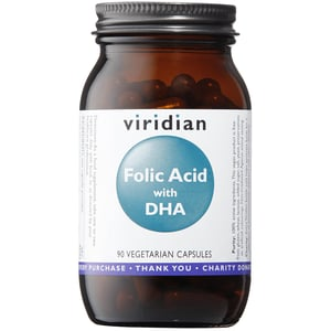 Viridian Folic Acid with DHA afbeelding