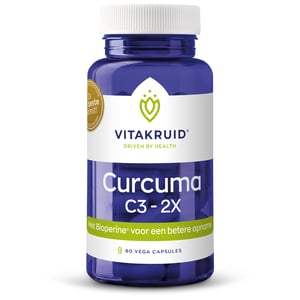 Vitakruid Curcuma C3 2X afbeelding