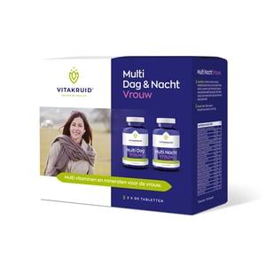 Vitakruid Multi dag & nacht vrouw 2 x 90 tabletten afbeelding
