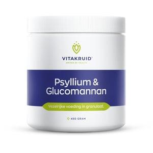 Vitakruid Psyllium & Glucomannan poeder afbeelding