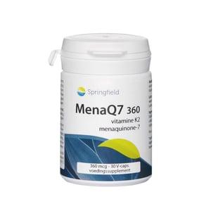 Springfield MenaQ7 360 mcg vitamine K2 (MK7) afbeelding
