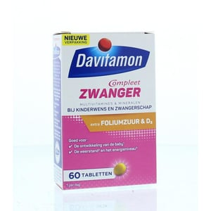 Davitamon Davitamon Compleet zwanger - Multipreparaat afbeelding