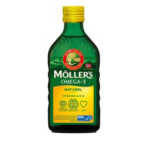 Möllers Möllers Omega-3 Naturel (Mollers visolie) afbeelding