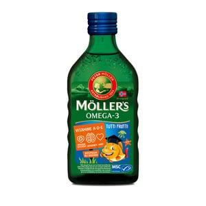 Möllers Möllers Omega-3 tutti frutti (Mollers visolie) afbeelding