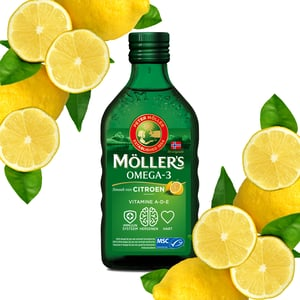 Möllers Möllers Omega-3 Citroen (Mollers visolie) afbeelding