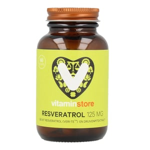 Vitaminstore Resveratrol 125 mg afbeelding