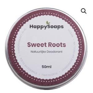 HappySoaps Natuurlijke Deodorant Sweet Roots afbeelding