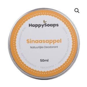 HappySoaps Natuurlijke Deodorant Sinaasappel afbeelding