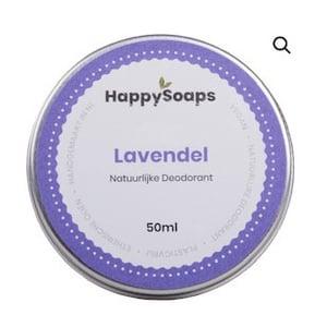 HappySoaps Natuurlijk Deodorant Lavendel afbeelding