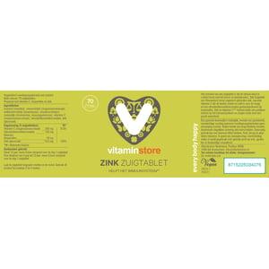 Vitaminstore Zink zuigtabletten afbeelding