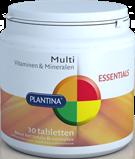 Plantina Multi Vitaminen&Mineralen