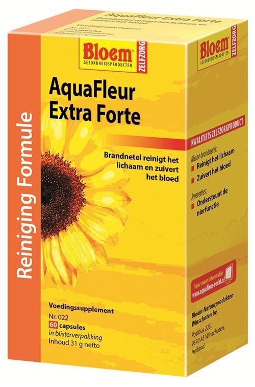 Afbeelding van AquaFleur Extra Forte capsules
