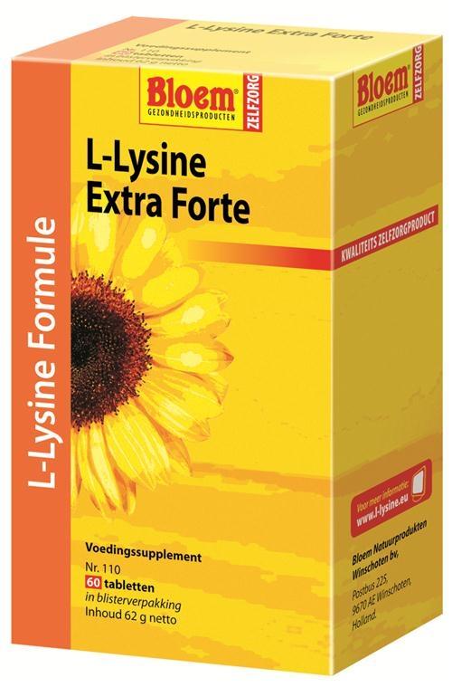 Afbeelding van L-Lysine Extra Forte Formule