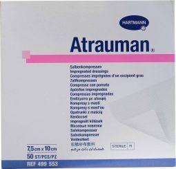 Hartmann Atrauman Zalfkompressen Steriel 7,5x10cm 10 Stuks (4995136)