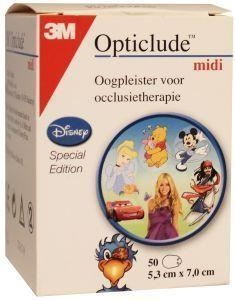 Opticlude Opticlude oogpleister midi girl disney 100st