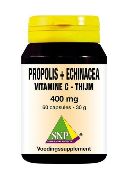 Propolis&echinacea&thijm&vitamine C 400 mg