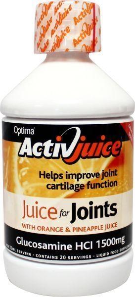 Afbeelding van Optima Glucosamine drank sinas/ananas vegetarisch