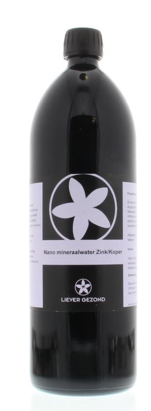 Mineraalwater nano zink/koper 15/2ppm