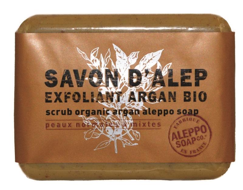 Aleppo zeep exfoliant argan bio