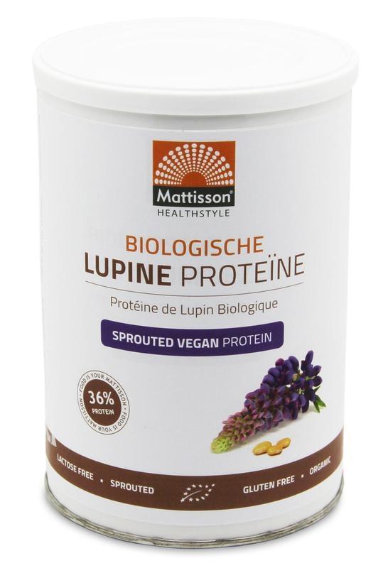 Afbeelding van Mattisson Healthstyle Lupine proteine vegan sprouted