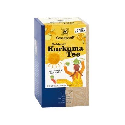Gouden kurkuma thee bio