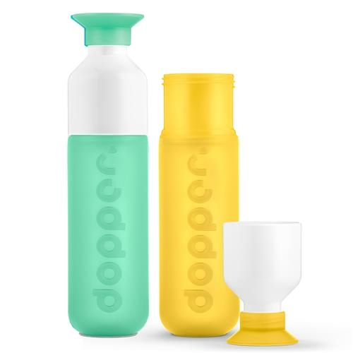 Dopper fles set Mintata Yellow 1 set
