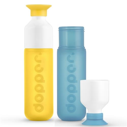 Dopper fles set Yellow Lagoon 1 set