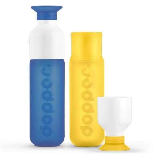 Dopper fles set Pacific Yellow 1 set