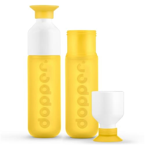 Dopper fles set Yellow Yellow 1 set