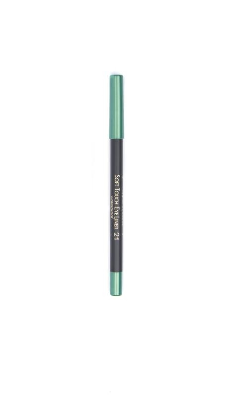 John van G Soft touch eyeliner waterproof 21 zacht groen