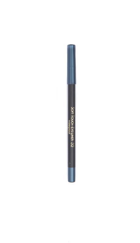John van G Soft touch eyeliner waterproof 32 nacht blauw