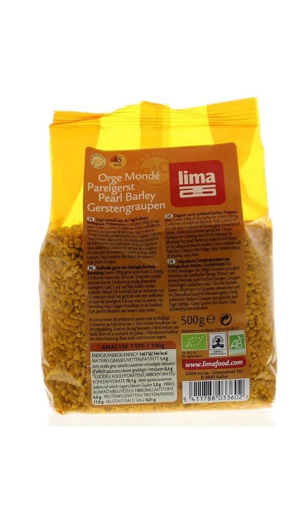 Gepelde gerst samen met tarwe was gerstéén van de basisvoedingsmiddelen van de oude grieken en romeinen. het ...