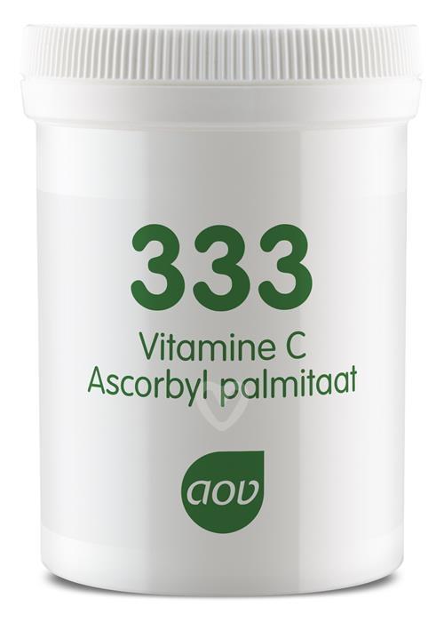 333 Vitamine C als Ascorbyl Palminaat