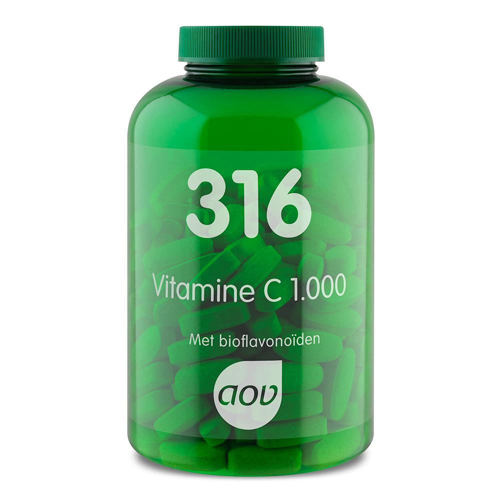 316 Vitamine C 1000 mg&bioflavonoïden