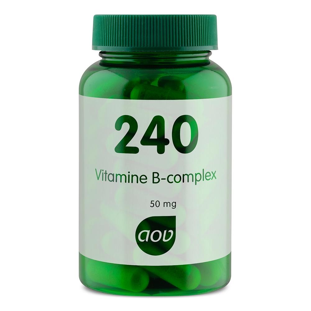 Afbeelding van 240 Vitamine B Complex 50 mg