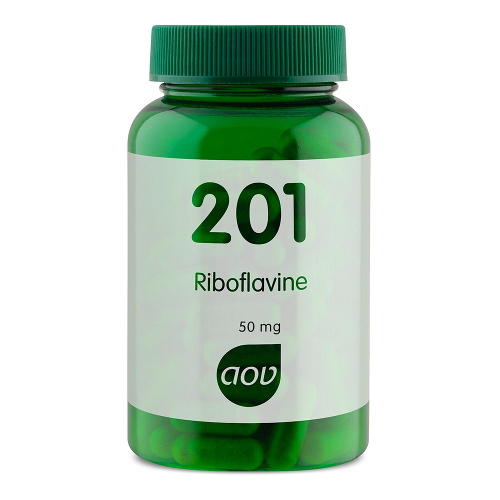 Afbeelding van 201 Riboflavine 50 mg (vitamine B2)
