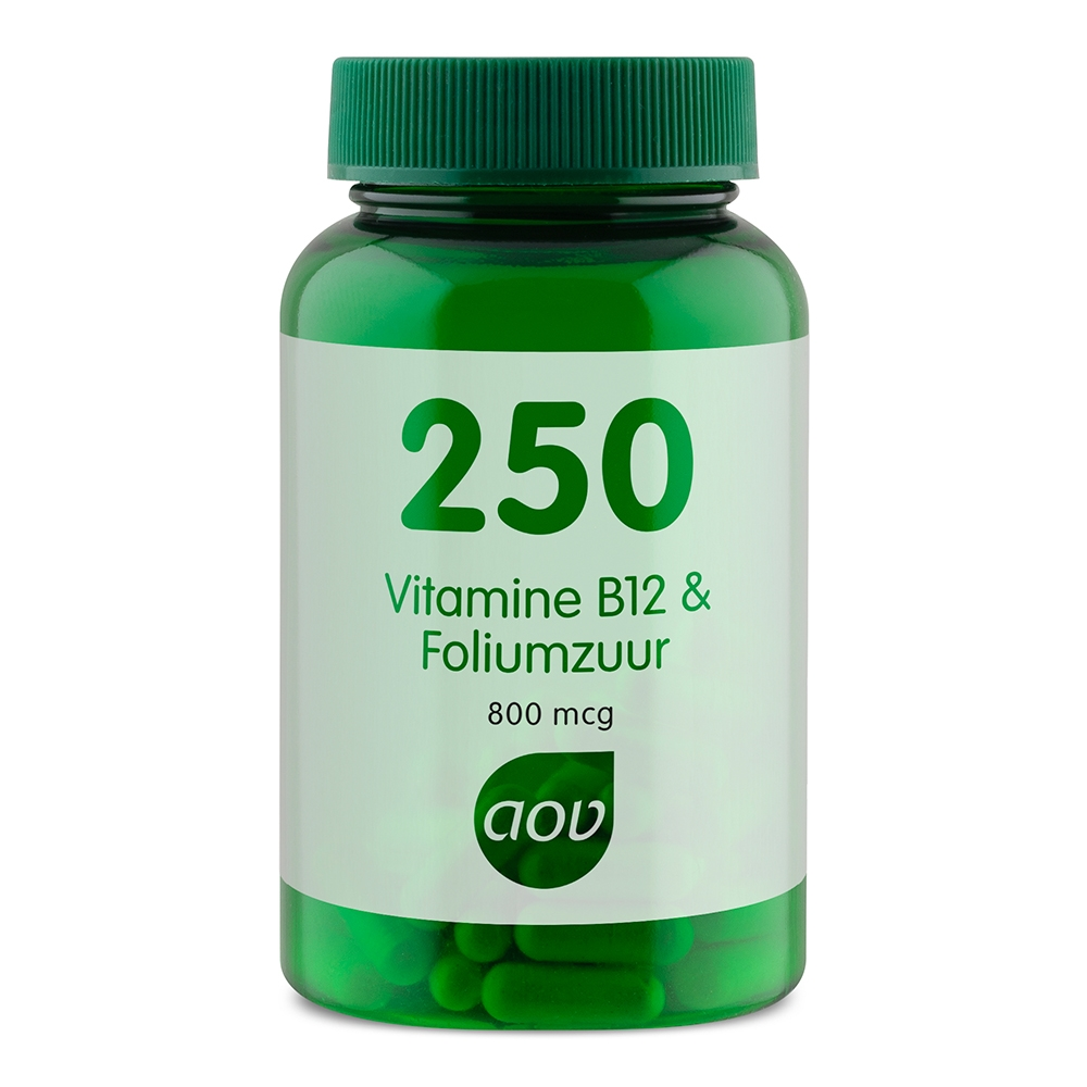 Afbeelding van 250 Vitamine B12 & Foliumzuur