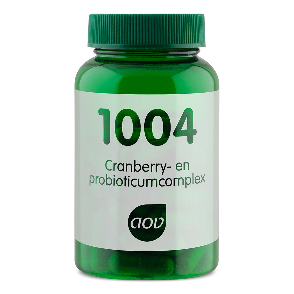 Afbeelding van 1004 Cranberry- en probioticumcomplex