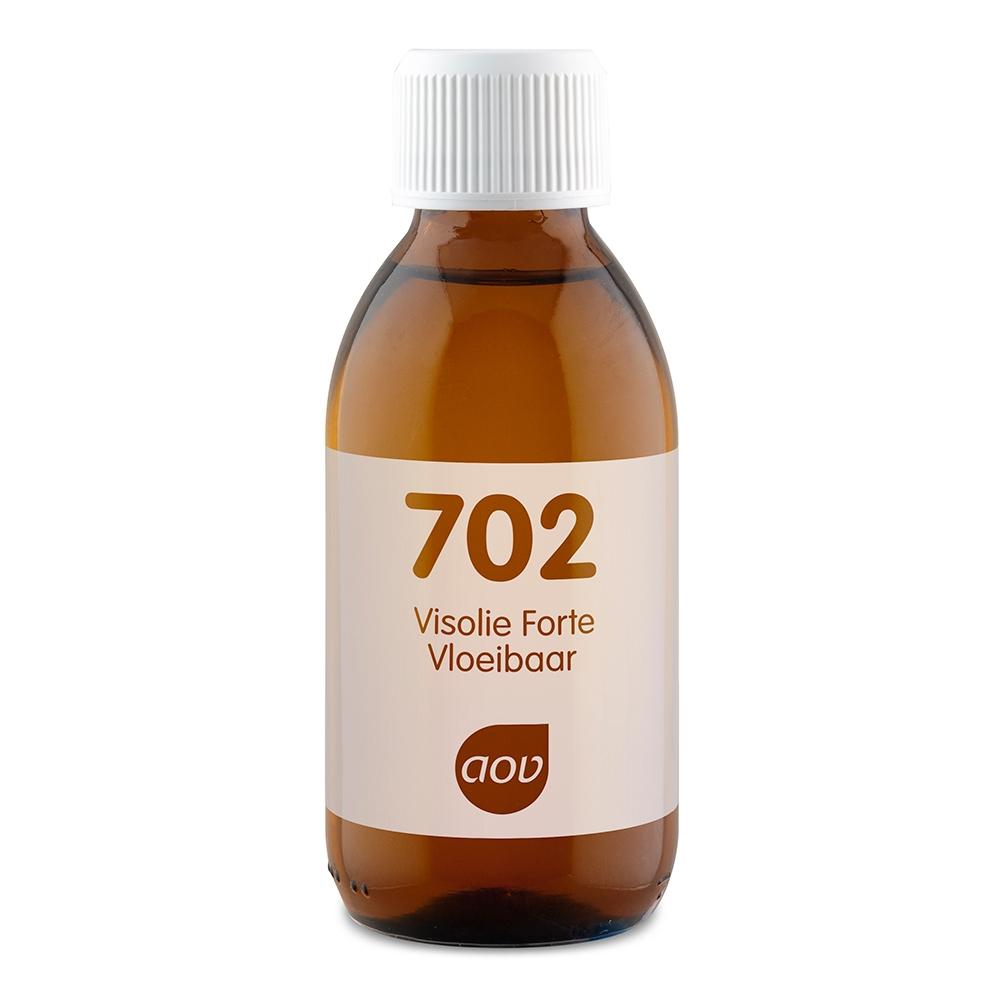 Afbeelding van AOV Voedingssupplementen 702 Visolie Forte Vloeibaar
