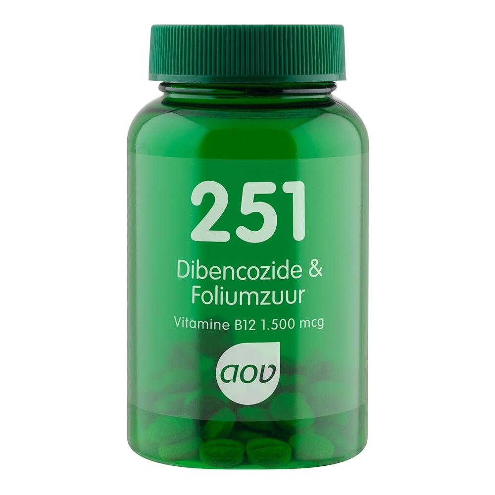 Afbeelding van 251 Dibencozide & Foliumzuur