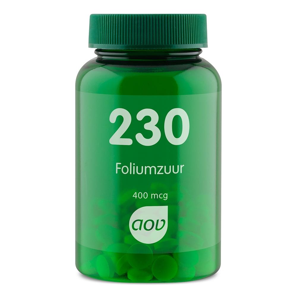 Afbeelding van 230 Foliumzuur 400 mcg