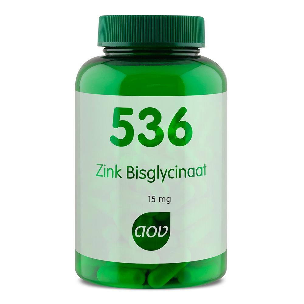 536 Zink Bisglycinaat 15 mg
