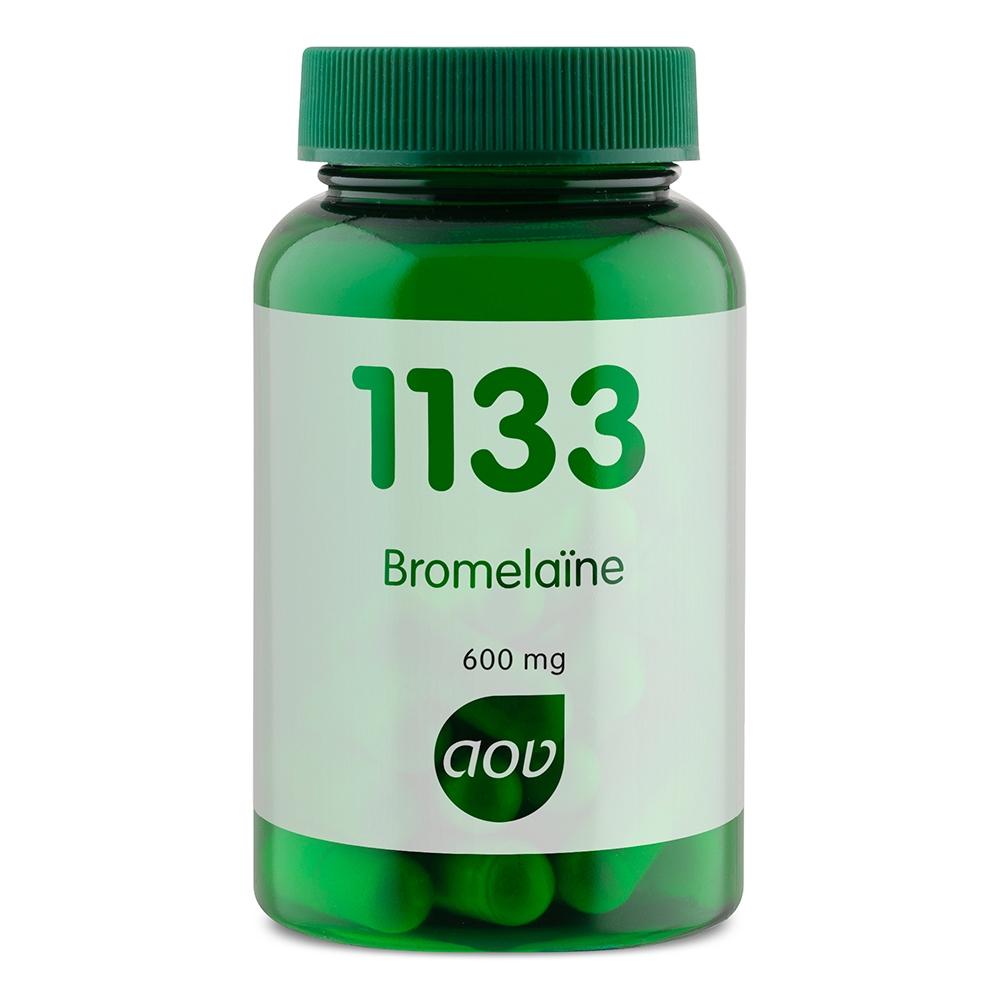 Afbeelding van 1133 Bromelaine 600 mg