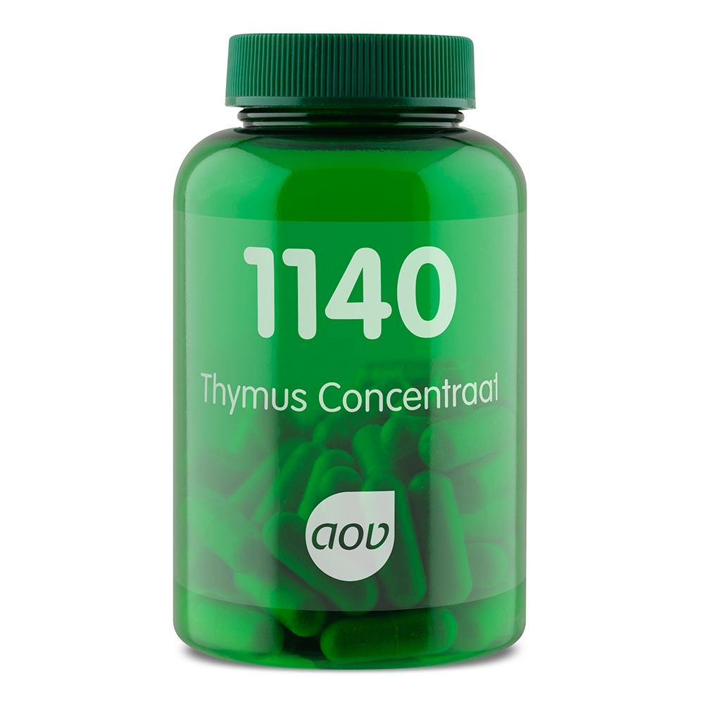 Afbeelding van 1140 Thymus Concentraat 300 mg