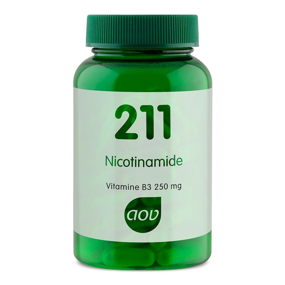Afbeelding van 211 Nicotinamide 250 mg (vitamine B3)