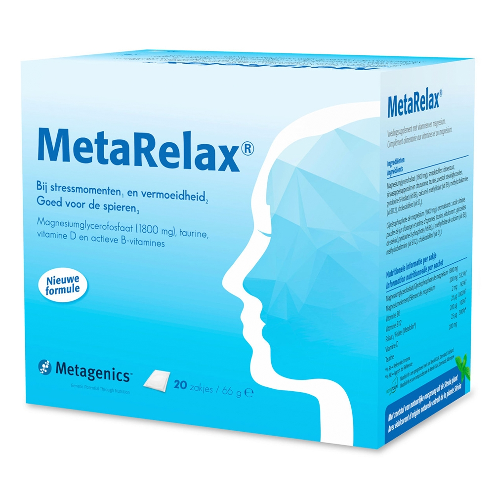 MetaRelax sachets (nu met vitamine D)