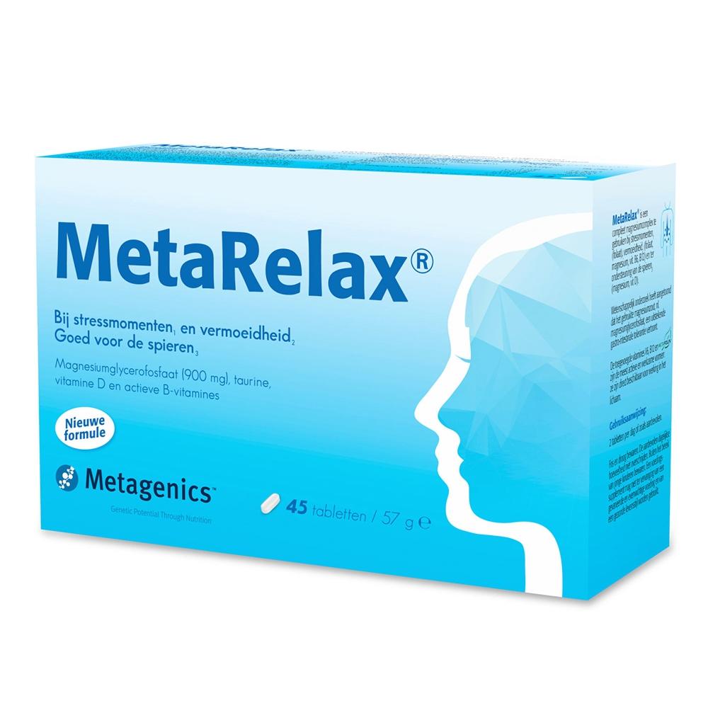 MetaRelax tabletten (nu met vitamine D)