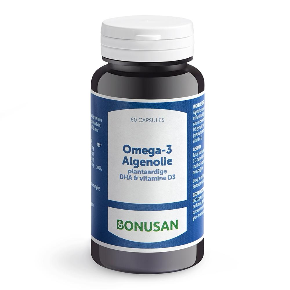 Afbeelding van Bonusan Omega 3 algenolie 750