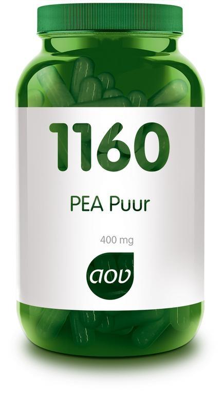 Afbeelding van 1160 PEA puur 400 mg